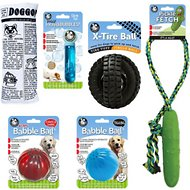 Pet Qwerks Large Dog Toy Value Pack Dog Toy, 6 count