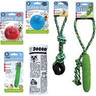 Pet Qwerks Medium Dog Toy Value Pack Dog Toy, 6 count
