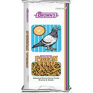 Brown's Maintenance All-Purpose Small Corn Premium Pigeon Food, 50-lb bag