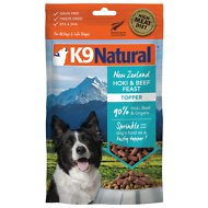 K9 Natural Hoki & Beef Grain-Free Freeze-Dried Dog Food Topper, 3.5-oz bag