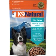 K9 Natural Hoki & Beef Grain-Free Freeze-Dried Dog Food, 1.1-lb bag