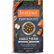 Instinct by Nature's Variety Raw Boost Grain-Free Recipe with Real Salmon Dry Dog Food, 19-lb bag