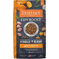 Instinct by Nature's Variety Raw Boost Gut Health Grain-Free Recipe with Real Chicken Adult Dry Dog Food, 4-lb bag