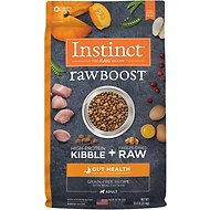 Instinct by Nature's Variety Raw Boost Gut Health Grain-Free Recipe with Real Chicken Adult Dry Dog Food, 18-lb bag