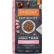 Instinct by Nature's Variety Raw Boost Skin & Coat Health Grain-Free Recipe with Real Chicken Adult Dry Dog Food, 4-lb bag