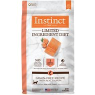 Instinct by Nature's Variety Limited Ingredient Diet Grain-Free Recipe with Real Salmon Adult Dry Cat Food, 4.5-lb bag