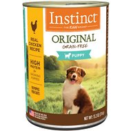 Instinct by Nature's Variety Original Puppy Grain-Free Real Chicken Recipe Wet Canned Dog Food, 13.2-oz, case of 6