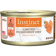 Instinct by Nature's Variety Limited Ingredient Diet Grain-Free Real Salmon Recipe Adult Canned Cat Food, 3-oz, case of 24