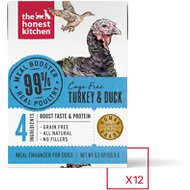 The Honest Kitchen Meal Booster 99% Turkey & Duck Wet Dog Food Topper, 5.5-oz, case of 12