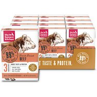 The Honest Kitchen Meal Booster 99% Beef Wet Dog Food Topper, 5.5-oz, case of 12