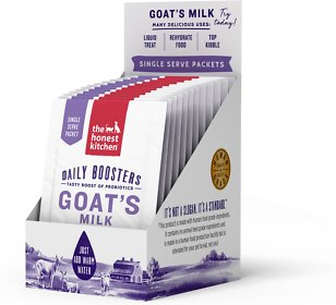 The Honest Kitchen Daily Boosters Instant Goat's Milk with Probiotics for Dogs & Cats