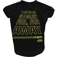 Fetch for Pets Star Wars Crawl Dog Tee, Black, X-Large
