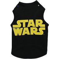 Fetch for Pets Star Wars Logo Dog Tank, Black, X-Large