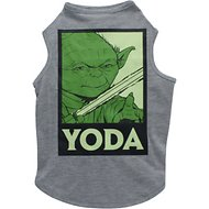Fetch for Pets Star Wars Yoda Dog Tank, Grey, X-Large