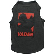 Fetch for Pets Star Wars Darth Vader Dog Tank, Charcoal, X-Large