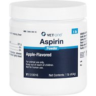 Aspirin Powder for Dogs and Horses Apple Flavor, 1 pound