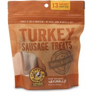 Happy Howie's Turkey Sausage Dog Treats, 13 count