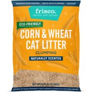 Frisco Corn & Wheat Alternative Clumping Litter, 20-lb bag
