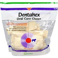 Vetoquinol Dentahex Oral Care Dog Dental Chews, 30 count, X-Large Breeds
