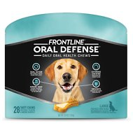 Frontline Oral Defense Daily Oral Health Chews for Large Dogs Over 50 lbs, 28 count
