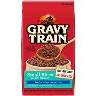Gravy Train Small Bites Beefy Classic Dry Dog Food, 3.5-lb bag
