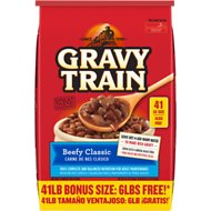 Gravy Train Beefy Classic Dry Dog Food , 41-lb bag