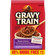 Gravy Train Meaty Classic Dry Dog Food, 15.4-lb bag