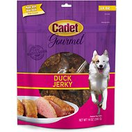 Cadet Duck Jerky Premium Dog Chews, 14-oz bag