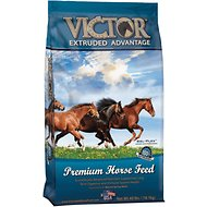 VICTOR Extruded Advantage Horse Feed, 40-lb bag