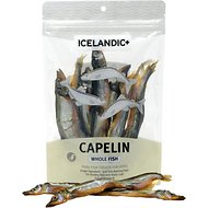 Icelandic+ Capelin Whole Fish Dog Treat, 2.5-oz bag