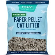 Frisco Unscented Non-Clumping Recycled Paper Cat Litter, 25-lb bag