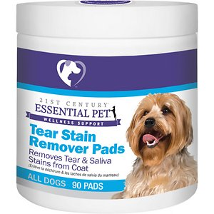 21st Century Essential Pet Tear Stain Remover Pads