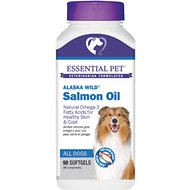 21st Century Essential Pet Alaska Wild Salmon Oil Soft Gels 1000mg Dog Supplement, 90 count