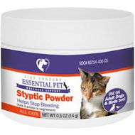 21st Century Essential Pet Cat Styptic Powder, 0.5-oz