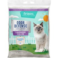 Frisco Odor Defense Lavender Fields Scented Clumping Clay Cat Litter, 35-lb bag
