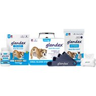 Glandex Dog Anal Gland Support Starter Kit with Digestive Supplements