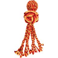 KONG Wubba Weaves with Rope Dog Toy, Color Varies, Large