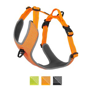 Chai's Choice Outdoor Adventure 3M Polyester Reflective Dual Clip Dog Harness