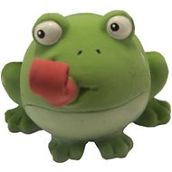 Charming Pet Squish 'Ems Frog Dog Toy