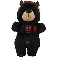 Charming Pet Lumber Jackerz Bear Dog Toy