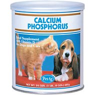 PetAg Calcium Phosphorus Food Dog & Cat Supplement, 20-oz