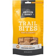 American Journey Chicken Recipe Trail Bites Grain-Free Soft & Chewy Dog Treats, 8-oz bag