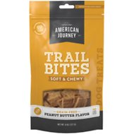 American Journey Peanut Butter Flavor Trail Bites Grain-Free Soft & Chewy Dog Treats, 8-oz bag