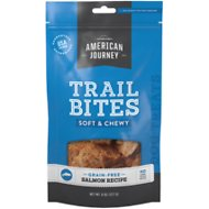 American Journey Salmon Recipe Trail Bites Grain-Free Soft & Chewy Dog Treats, 8-oz bag