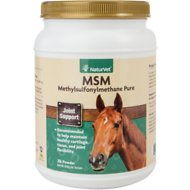 NaturVet MSM Pure Joint Support Horse Powder Supplement, 2-lb tub