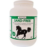 NaturVet Sand-Free Apple Flavor Horse Supplement, 3-lb tub