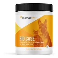 Thomas Labs Bio Case Pancreatic Enzyme Powder Dog & Cat Supplement, 12-oz jar