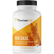 Thomas Labs Bio Case Pancreatic Support Dog & Cat Supplement, 60 count