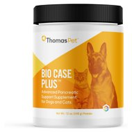 Thomas Labs Bio Case Plus Pancreatic Support Powder Dog & Cat Supplement, 12-oz
