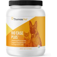 Thomas Labs Bio Case Plus Pancreatic Support Powder Dog & Cat Supplement, 2.2-lb